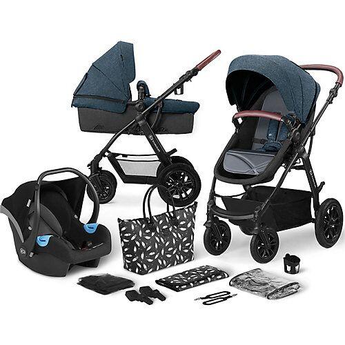 Kinderkraft Kinderwagen Xmoov, multifunktional, 3in1, denim