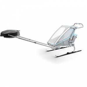 Thule Ski Kit Chariot silber