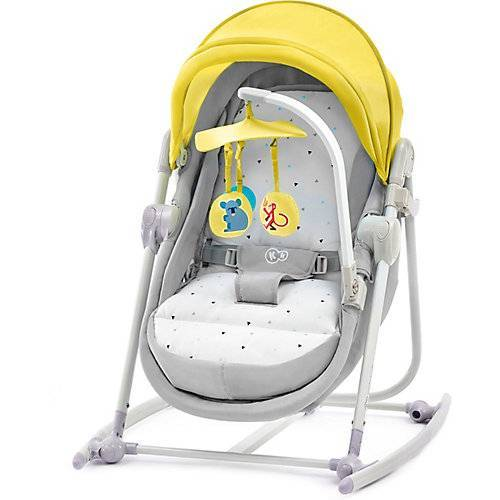 Kinderkraft Wippe Unimo, 5in1, gelb