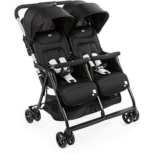 CHICCO Zwillingsbuggy Ohlalà Twin, schwarz
