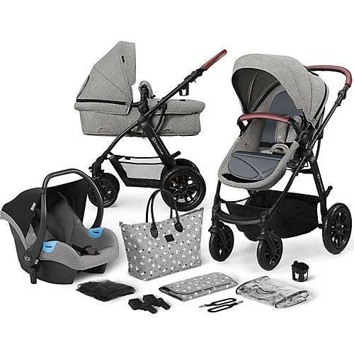 Kinderkraft Kinderwagen Xmoov, multifunktional, 3in1, grau