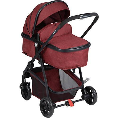 Safety 1st Kinderwagen, Hello 2in1, Ribbon Red Chic rot
