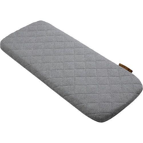 bugaboo Woll-Matratzenbezug, grau meliert