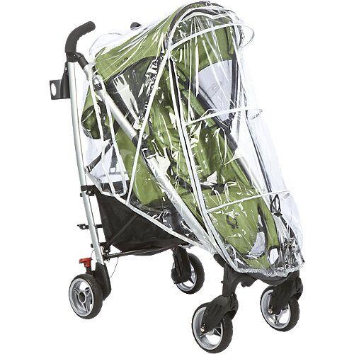 GESSLEIN Regenschutz mit Reflektoren Kinderwagen und Buggys  Kinder