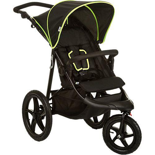 Hauck Buggy Runner, black/neon yellow gelb