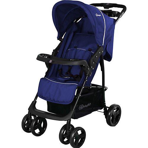 BabyGO Buggy Basket, blau