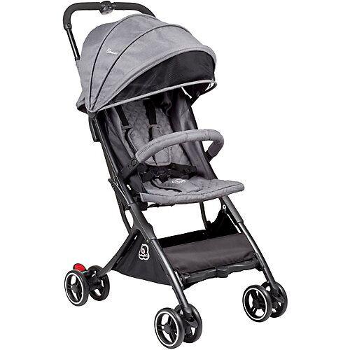 BabyGO Buggy Micro, grey grau