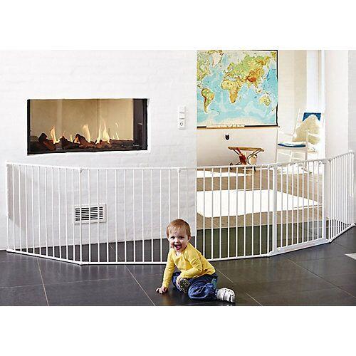 Baby Dan Konfigurationsgitter Flex XXL, 90 - 350 cm, weiß