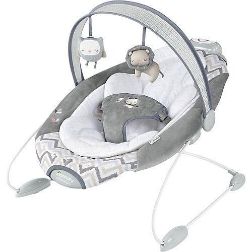 Ingenuity Babywippe SmartBounce, Automatisch, Braden grau