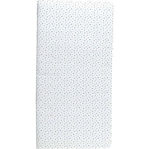 candide Reisebettmatratze Sterne rollbar, 60 x 120 cm weiß