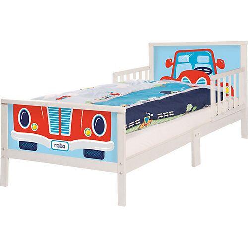 Roba Kinderbett RENNFAHRER. 70 x 140 cm, weiß