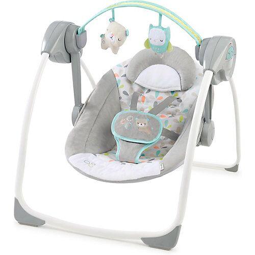 Kids II Comfort 2 Go tragbare Schaukel– Fanciful Forest grau
