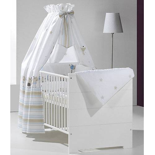 Schardt Kinderbett ECO STRIPE, weiß, 70 x 140 cm