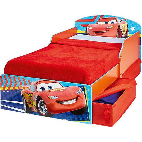 WORLDS APART Cars Kinderbett, 70 x 140 cm rot