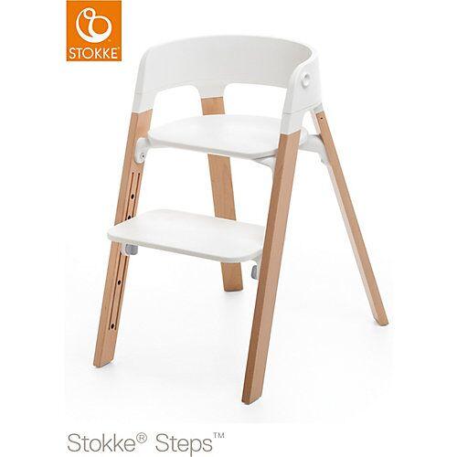 Stokke Steps™ Hochstuhl, Natural beige