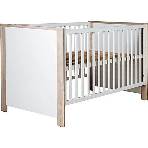 Roba Kinderbett OLAF, 70 x 140 cm weiß/Luna Elm