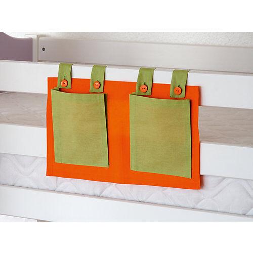 Relita Betttasche Hoch- & Etagenbett, grün/orange  Kinder