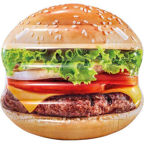 Intex Badeinsel Hamburger bunt