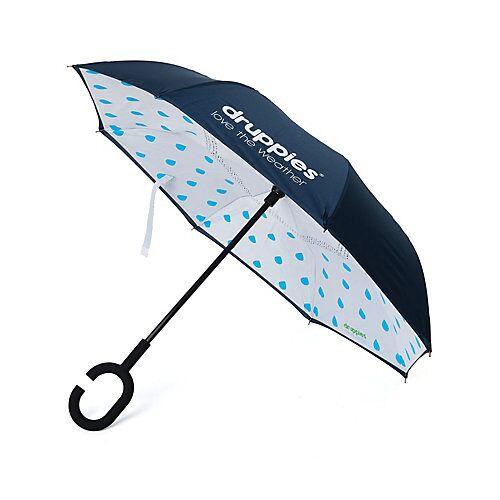 druppies ® Regenschirm  Regenschirm Regenschirme Kinder dunkelblau  Kinder