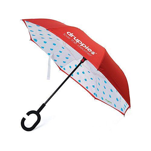 druppies ® Regenschirm  Regenschirm Regenschirme Kinder rot  Kinder