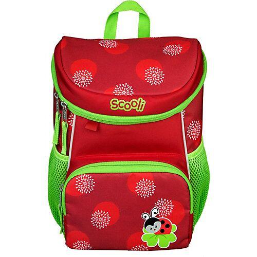 SCOOLI Kinderrucksack Mini-Me Lotti Ladybug grün