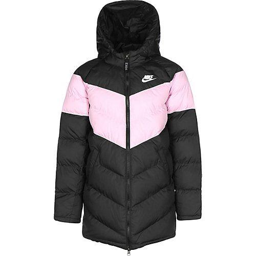 Nike Winterjacke Kinder Sportswear Winterjacken schwarz