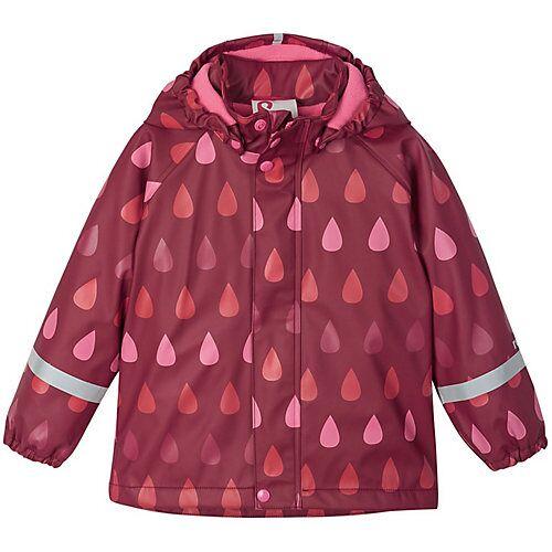 Reima Regenjacke Koski Regenjacken Kinder rot-kombi  Kinder