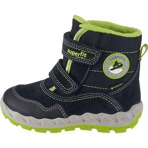 superfit Baby Winterstiefel ICEBIRD , Weite W5 für breite Füße, GORE-TEX blau Jungen Kleinkinder