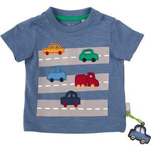 sigikid Baby T-shirt , Autos, Organic Cotton blau Jungen Baby