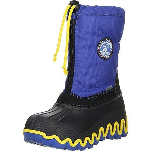 Vista Canada POLAR Kinder Winterstiefel Snowboots blau Stiefel