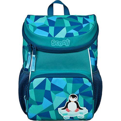 SCOOLI Kinderrucksack Mini-Me Peter Penguin blau-kombi