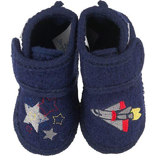 Sterntaler Hausschuh - Hausschuhe - dunkelblau Jungen Kleinkinder