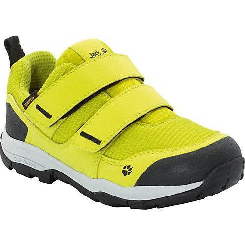 JACK WOLFSKIN Kinder Sneakers Low gefüttert MTN ATTACK 3 TEXAPORE LOW lime