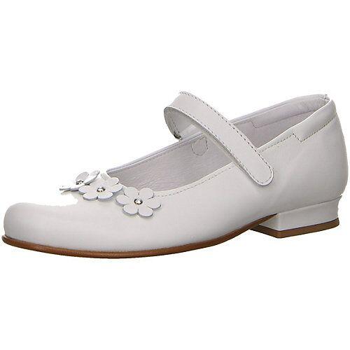 KIM KAY Schnürhalbschuhe Schnürschuhe weiß Mädchen Kinder