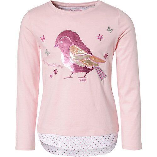 REVIEW for Kids Langarmshirt  mit Wendepailetten rosa Mädchen Kinder