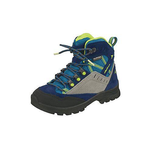 Alpina Trekkingschuh Wanderschuhe blau/grün