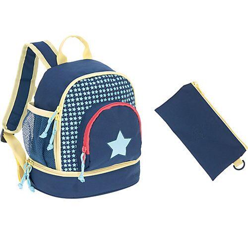 myToys-COLLECTION LÄSSIG Kindergarten Rucksack 4kids, Mini Backpack, Exclusiv, Starlight blau