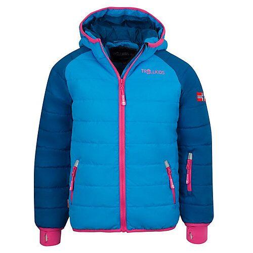 TROLLKIDS Skijacke Winterjacke Hafjell XT Winterjacken Kinder blau/lila  Kinder