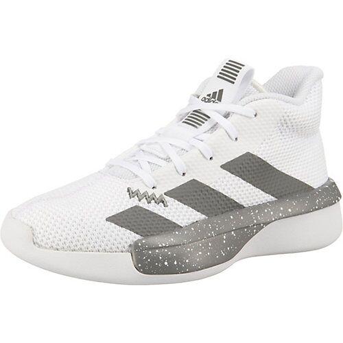 adidas Basketballschuhe PRO NEXT 2019  weiß Jungen Kinder