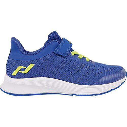Pro Touch Sportschuhe OZ 2.2 V/L JR  blau/gelb Jungen Kleinkinder