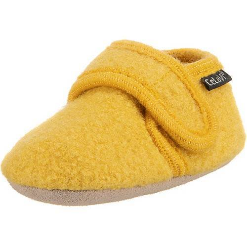CeLaVi Baby Hausschuhe Füßlinge gelb
