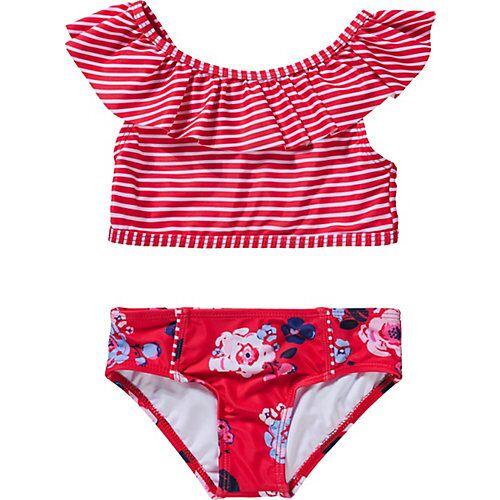 NÖRUK Kinder Bikini rot Mädchen Kleinkinder