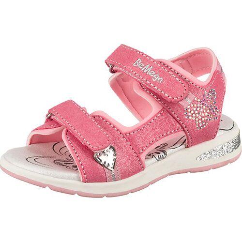 Be Mega Sandalen  rosa Mädchen Kleinkinder