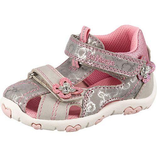 Be Mega Baby Sandalen  grau Mädchen Kleinkinder