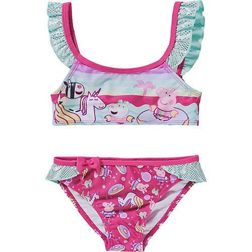 Peppa Pig Kinder Bikini rosa Mädchen Kleinkinder