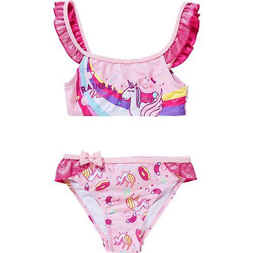 Peppa Pig Kinder Bikini pink Mädchen Kleinkinder