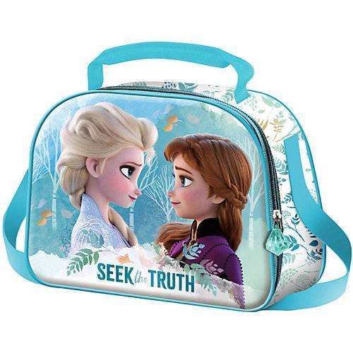 Disney Dieeiskoenigin Umhängetasche 3D Die Eiskönigin 2 bunt