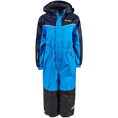 Zigzag Schneeanzug Schneeanzüge Kinder blau-kombi  Kinder