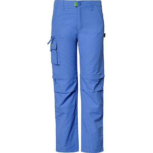 TROLLKIDS Kinder Outdoorhose OPPLAND mit UV-Schutz blau