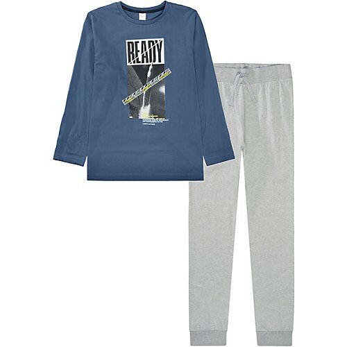 STACCATO Schlafanzug  blau Jungen Kinder